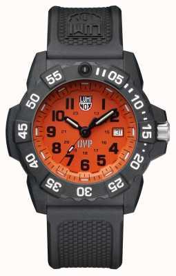 Luminox Scott Cassel Uvp Special Ed 3500 Orange/Blk Dial Pu Blk Stp XS.3509.SC.SEL