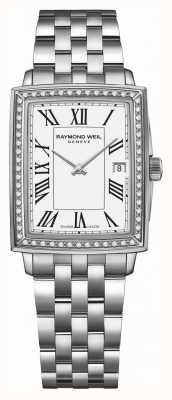 Raymond Weil Toccata | Diamond | White Dial | Stainless Steel Bracelet 5925-STS-00300