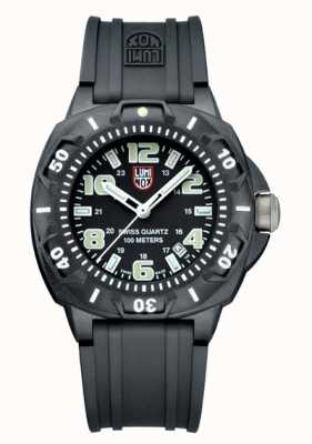 Luminox Men's Sentry 0200 | Black Silicone Strap | Black & White Dial A0201.SL