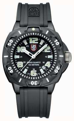 Luminox Men's Sentry 0200 | Black Silicone Strap | Black & White Dial A0201.SL