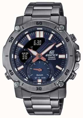 Casio Edifice | Tough Solar | Stainless Steel Bracelet | ECB-20DC-1AEF
