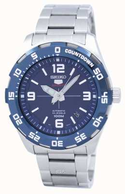 Seiko 5 Sport | Sports | Automatic | Blue Dial | Stainless Steel SRPB85K1