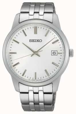 Seiko Men's Quartz | Stainless Steel Bracelet | Silver Dial SUR397P1