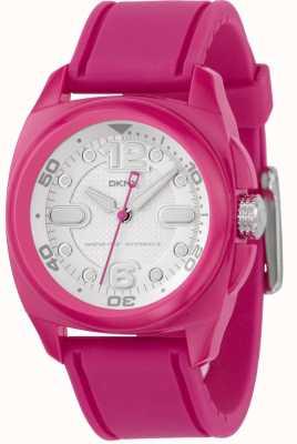 DKNY Womens Pink Strap Watch NY4900