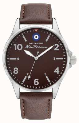 Ben Sherman Men's Brown PU Leather Strap | Brown Dial BS053BR