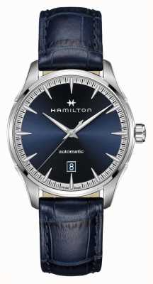 Hamilton Jazzmaster | Auto | Blue Leather Strap | Blue Dial H32475640