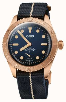 ORIS Carl Brashear Limited Edition | Calibre 401 120 Hours Movement 01 401 7764 3185-SET