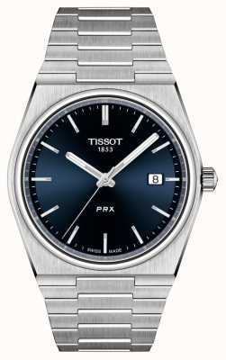 Tissot Men's PRX 40mm Quartz Blue Dial T1374101104100