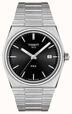 Tissot Men's PRX 40mm Quartz Black Dial T1374101105100
