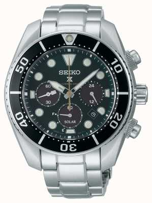 "Seiko Limited Edition Prospex ""Island Green"" Solar Chronograph ""Sumo"" Watch SSC807J1"