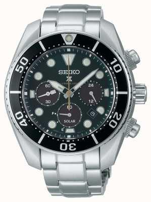 "Seiko Limited Edition Prospex ""Island Green"" Solar Chronograph ""Sumo"" Watch SSC807J1"