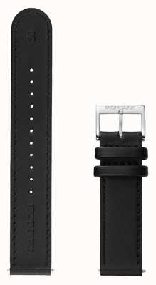 Mondaine Watch Strap Black Leather STOP2GO FE2532020Q2