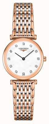 Longines Womens | La Grande Classique | Diamond Dial | Two Tone Steel Bracelet L42091977