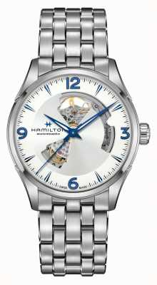 Hamilton Jazzmaster | Automatic | Open Heart | Stainless Steel H32705152