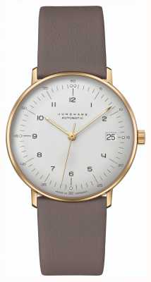 Junghans Max Bill | Kleine | Automatic | Grey Leather Strap 27/7108.02