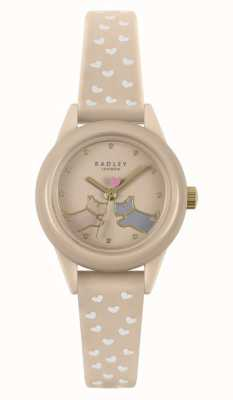 Radley Watch It! | Women's Nude Silicone Strap | Nude Dial RY21258