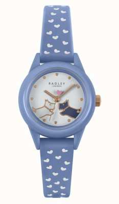 Radley Watch It! | Women's Blue Silicone Strap | White Dial RY21260
