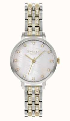 Radley Women's Two-Tone Steel Bracelet | White Dial RY4559