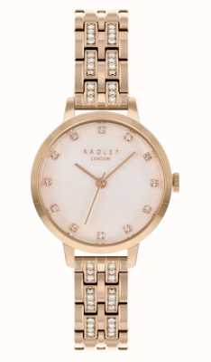 Radley | Women's | Rose Gold Plated Bracelet | White Dial | RY4560