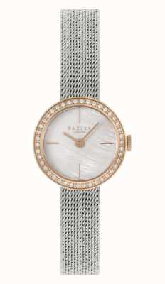 Radley | Women's | Silver Steel Mesh Bracelet | Mother Of Pearl Dial | RY4567