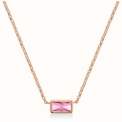 Radley Jewellery Radley Rocks | Rose Gold Plated Bracelet | Baguette Cut Crystal RYJ2160S-CARD