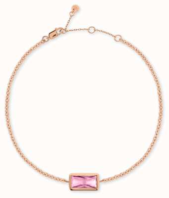 Radley Jewellery Radley Rocks | Rose Gold Plated Bracelet | Grey Stone RYJ3098S-CARD