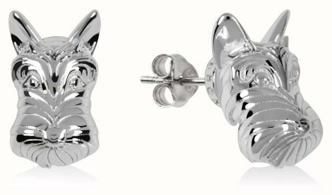 Radley Jewellery Radley & Friends | Sterling Silver Scottie Dog Stud Earrings RYJ1171S-CARD