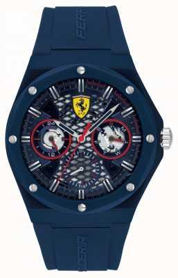 Scuderia Ferrari Aspire | Men's Blue Silicone Strap | Blue Dial 0830788