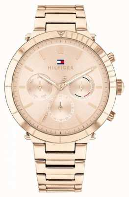 Tommy Hilfiger Emery | Women's Rose Gold Steel Bracelet | Rose Gold Dial 1782347