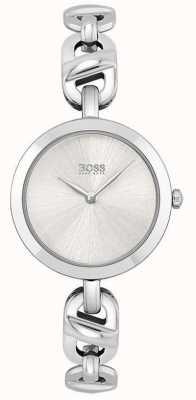 BOSS Women's | New Chain | Silver Dial | Stainless Steel Bracelet 1502590