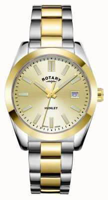 Rotary Women's | Henley | Champagne Dial | Two Tone Stainless Steel Bracelet LB05181/03