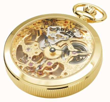 Rotary Mens | Mechanical | Gold Plated | Pocket MP00727/01