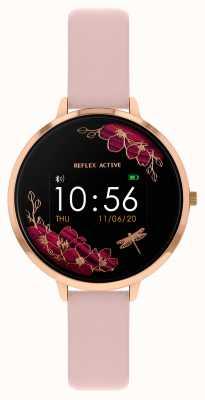 Reflex Active Series 3 Smart Watch | Nude Pink Strap RA03-2038