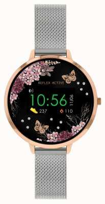 Reflex Active Series 3 Smart Watch | Stainless Steel Mesh  Strap RA03-4037