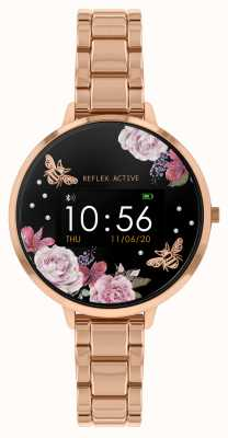 Reflex Active Series 3 Smart Watch | Rose Gold Steel Bracelet RA03-4012