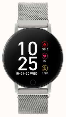 Reflex Active Series 5 Smart Watch | HR Monitor | Colour Touch Screen |steel Mesh RA05-4015