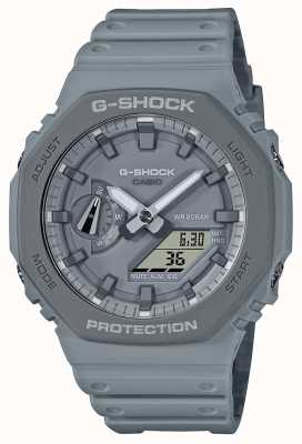 Casio CasiOak | Grey Resin Strap | Grey Dial GA-2110ET-8AER