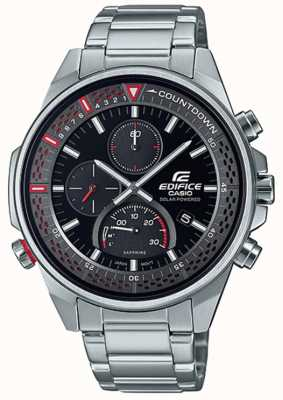 Casio Edifice | Slim Sapphire Chronograph | Stainless Steel Bracelet EFS-S590D-1AVUEF