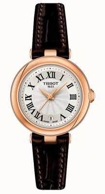 Tissot Bellissima | Silver Dial | Brown Leather Strap T1260103601300