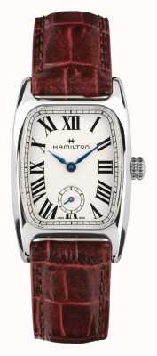 Hamilton Boulton | White Dial | Brown Leather Strap H13321811