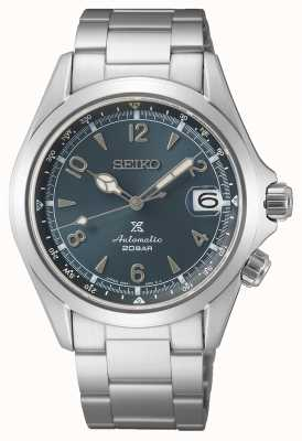 Seiko Men's Alpinist 2021 European Edition | Blue Dial | Stainless Steel Bracelet SPB197J1
