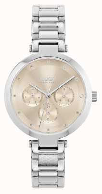 HUGO #HOPE Multi | Women's Stainless Steel Bracelet | Gold Dial 1540088