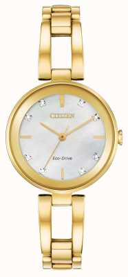 Citizen Women's Eco-Drive Diamond Dial EM0802-58D