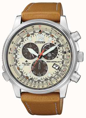 Citizen Men's Eco-Drive Radio Controlled Perpetual Chrono A.T CB5860-35X