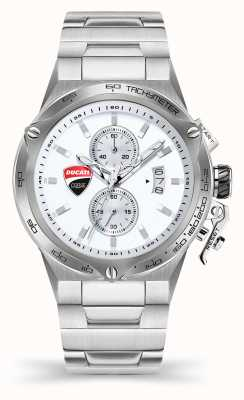 Ducati DT003 | Chronograph | Silver Dial | Stainless Steel Bracelet DU0066-CCHB.E02