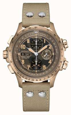 Hamilton Khaki Aviation X-Wind   Automatic   Chronograph   Brown Dial H77916920