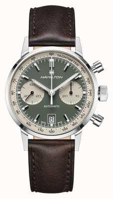 Hamilton IntraMatic | Automatic | Chronograph | Green Dial H38416560