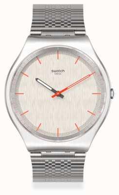 Swatch TIMETRIC | Grey Stainless Steel Bracelet | Grey Dial SS07S113GG