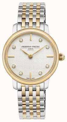 Frederique Constant Women's Slimline Diamond Set Dial FC-200STDS23B