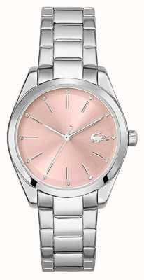 Lacoste Petite Parisienne | Women's Stainless Steel Bracelet | Pink Dial 2001176